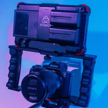 Rent Sony a7S II (Premium Cage Kit) Cage + Atomos Monitor
