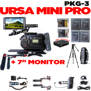 Rent URSA Mini Pro + SmallHD  702