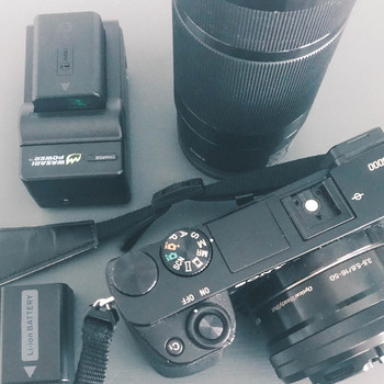 Rent Sony A6000 w/ Kit Lens and 210mm Lens + Extra Batteries