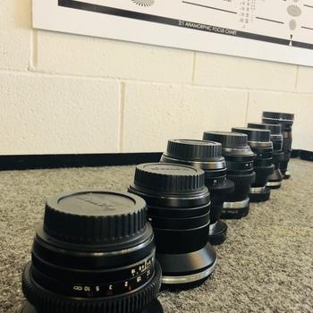 Rent Zeiss ZE Lens Set 18,21,28,35,50,85,135mm