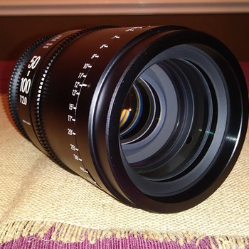 Rent Sigma Cine-Zoom 18-35mm T2 & 50-100mm T2 Lenses with Case (Canon EF)