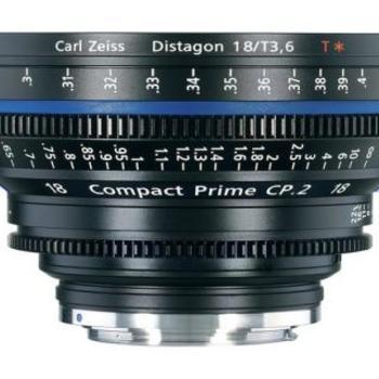 Rent Zeiss 18mm/T3.6 CP.2 Compact Prime Cine Lens