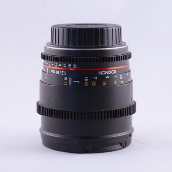 Rent Rokinon Cine DS Prime Lens Set for Canon EF