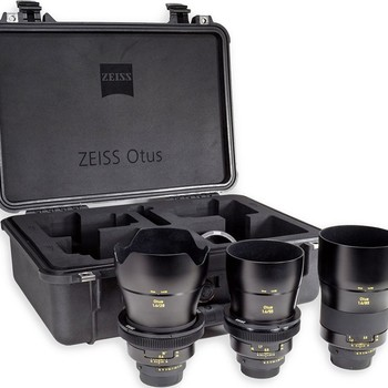 Rent ZEISS OTUS PRIME LENS KIT EF (MODDED, DECLICKED APERTURE RING)
