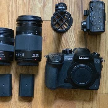 Rent DOCU-STYLE KIT {GH5 x XLR Adapter x MKE600 x 12-35MM 2.8 ii x 35-100MM 2.8}