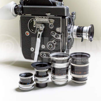 Rent Super 16 Bolex Rex 5 package with Switar primes!