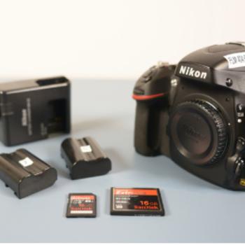 Rent Nikon D800 with 24-120 F4. lens