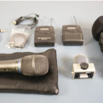 Rent Audio Kit: Zoom H6N, Sennheiser Lav, Shure handheld Mic