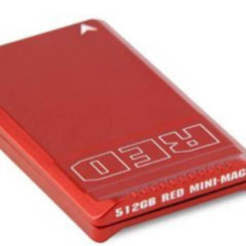 Rent RED Mini-Mag 512G red card with reader and USB3 cable