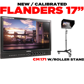 """Rent FLANDERS 17"""" Client/Director's Monitor"""