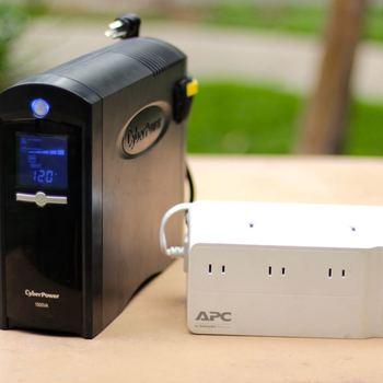 Rent Cyberpower 900W Battery Backup & APC Battery Backup