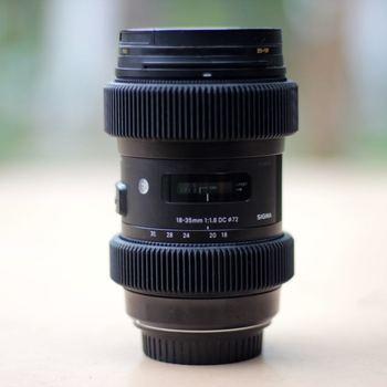 Rent Sigma 18-35mm f1.8 / Follow Focus Rings