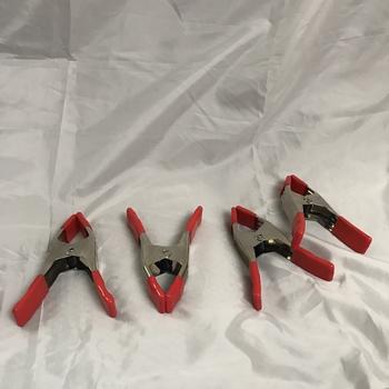 """Rent Bessey Steel Spring Clamp (Orange, 2-1/4 x 2"""") (set of 4)"""
