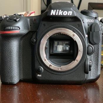 Rent Nikon D500 Camera Body