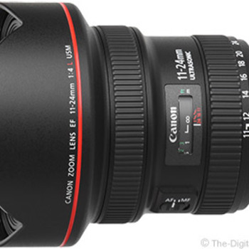 Rent Canon 11-24mm 4.0 L Rectilinear Wide Angle Zoon Lens