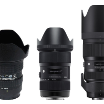 Rent High-Speed EF zoom lens kit (11-16/18-35/50-100) f1.8-2.8