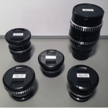 Rent Vintage Zeiss Jena prime lens kit (20, 35, 50, 80, 180)