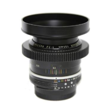 Rent Nikon cine-mod EF-mount 135mm/f2.8 prime lens