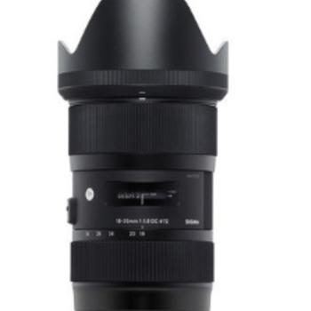 Rent EF mount Sigma 18-35mm f/1.8 DC HSM Art Lens