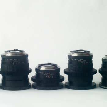 Rent Zeiss Contax set of 5 lenses