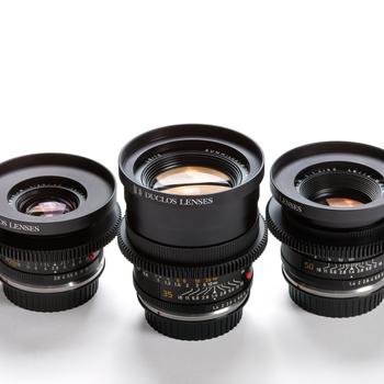 Rent Leica R Prime Lens Kit