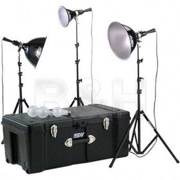 Rent Smith Victor K6RC 3-Light 1250 Watt Adapta-Light  Portrait Kit