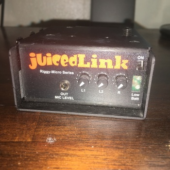 Rent JuicedLink RM222 Riggy-Micro Dual-XLR Preamp w Phantom Power