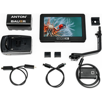 "Rent SmallHD Focus 5"" + Sony NP-FW50 Bundle + 3 Batteries"