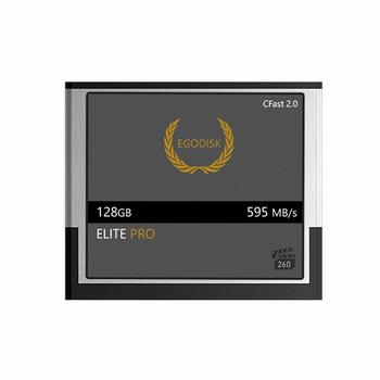 Rent EgoDisk ELITE PRO 128GB CFast 2.0 Card + Card Reader
