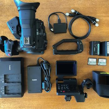 Rent Canon C300 Mark II EF Mount