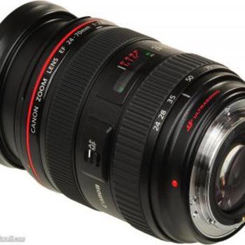 Rent Canon 24-70mm f2.8 USM Lens