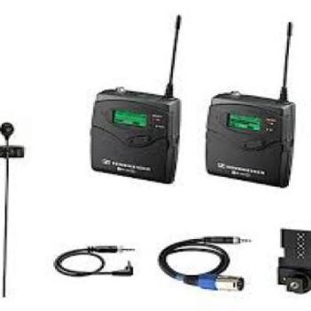 Rent Sennheiser G2 Wireless Lavalier Kit with ME2 Lavalier Mic