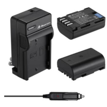 Rent 2 Pack High Capacity Replacement Battery and Charger for GH5