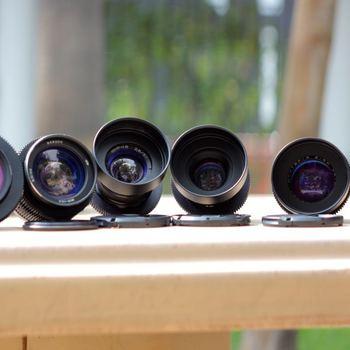 Rent Anamorphic Lens Set of 6 Lenses - Kowa, Lomo, Century