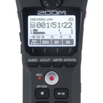 Rent Zoom H1N digital audio recorder 1