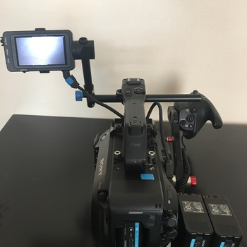 Rent Sony FS7 camera body w/speedbooster, extra batteries & memory cards