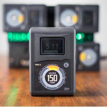 Rent 4x Core SWX 150wh Gold Mount Batteries + Quad Charger