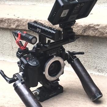 Rent Gh5s, Metabones XL Cine PL Lock, Ninja V ,  Cage/Grips, Rokinon Prime Set