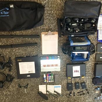 Rent Zoom F8 Multi-Track Field Recorder Bundle w/Digital Slate/2 LAVs/2 Shotguns w/ Booms +more!