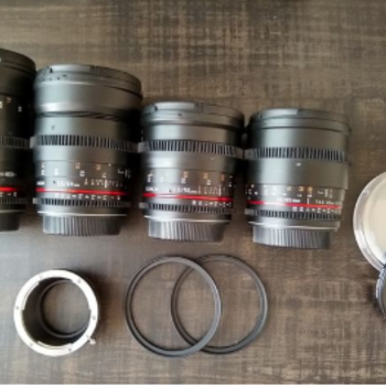 Rent Rokinon Cine DS Lens Set