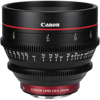 Rent Canon CN-E 24mm T1.5 EF Cinema Prime Lens