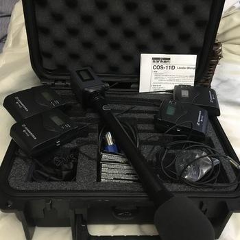 Rent Sennheiser G3 Duo Lav Field Kit