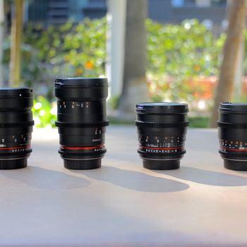 Rent Rokinon Cine Lens Set (Set of 2 Lenses)