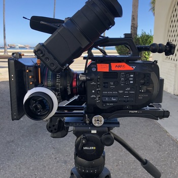 Rent Sony PXW FS7 w/ metabones