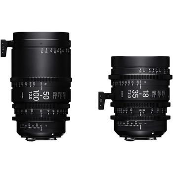 Rent Sigma Cine Zooms (18-35mm & 50-100mm)