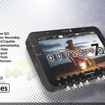 Rent Odyssey 7Q full kit with Directors cage, 2 x 256 Gig SSD Goldmount battery plate, Battery