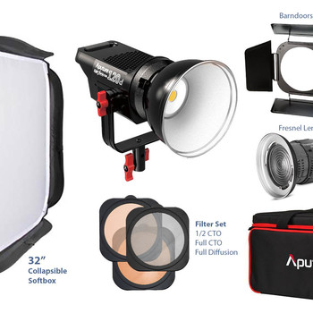 Rent Aputure Lightstorm 120D + FULL ACCESSORIES