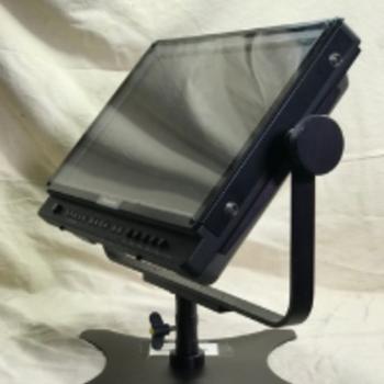 """Rent Panasonic 17"""" HD Monitor w/Yoke, stand"""