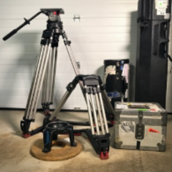 Rent Sachtler 7+7 150mm Fluid Head, Sticks Package