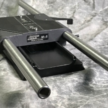 Rent ARRI BP-9 Base Plate w/ Dovetail Plate, rods